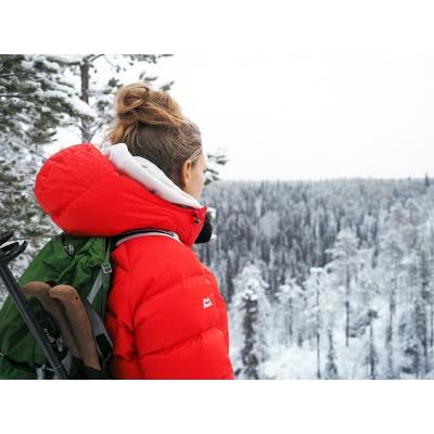 Foto 1 van Kathrin bij Mountain Equipment - Women's Sigma Jacket - Donzen jack