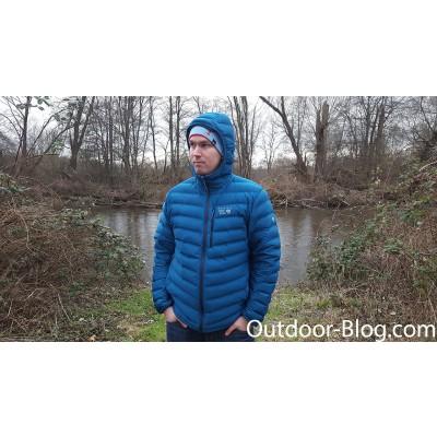 Foto 1 van Dennis bij Mountain Hardwear - Stretchdown Hooded Jacket - Donzen jack