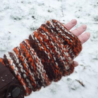Foto 2 van Karen bij Sherpa - Women's Rimjhim Handwarmers 2 - Handschoenen