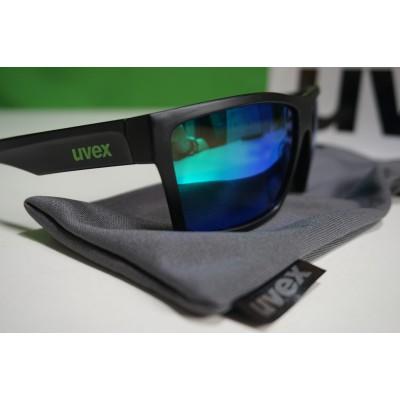 Foto 2 van Ole bij Uvex - LGL 29 Mirror Green S3 - Zonnebril