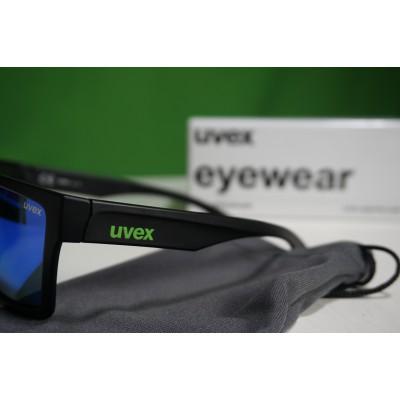 Foto 3 van Ole bij Uvex - LGL 29 Mirror Green S3 - Zonnebril