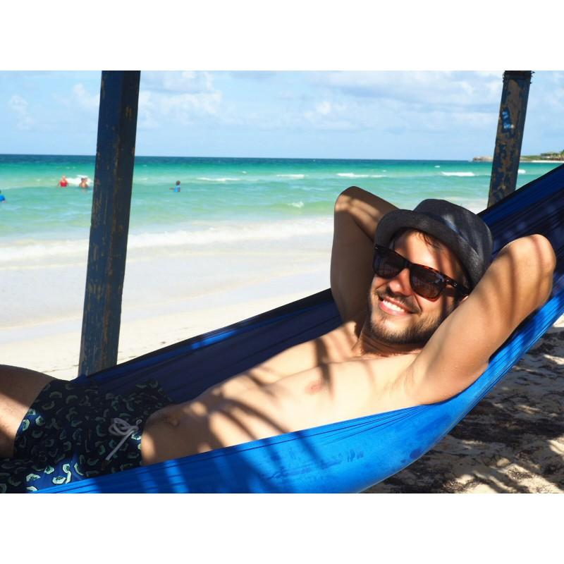 Foto 1 van René bij Amazonas - Silk Traveller - Hangmat