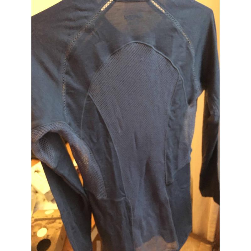 Foto 1 van Sandrine bij Bergans - Barlind Lady Shirt - Merino-ondergoed