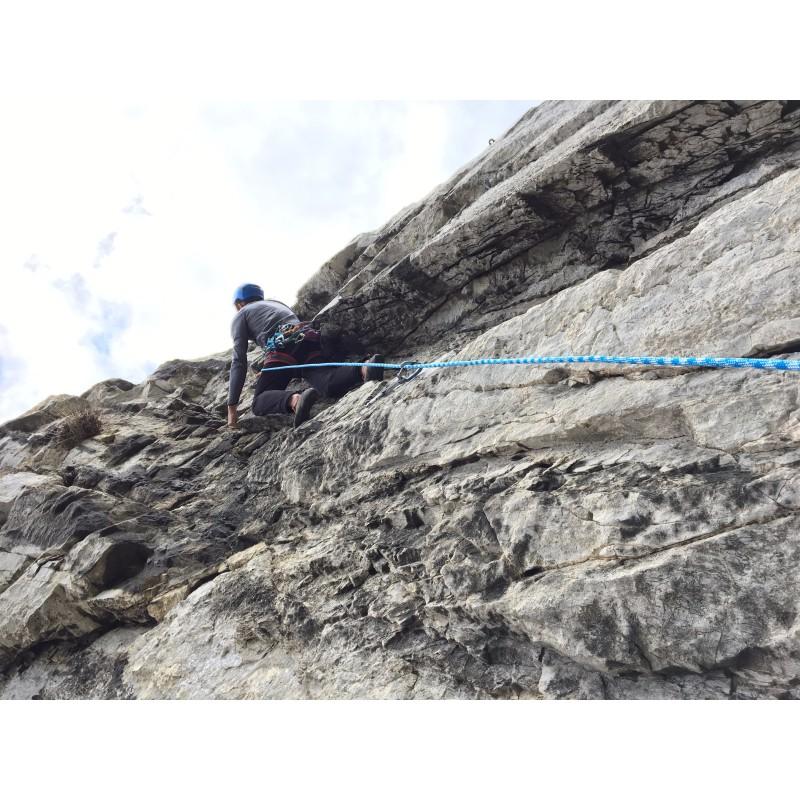 Foto 1 van Mike bij Bergfreunde.de - Kletterseil-Seilsack-Set Zopa - Klimset