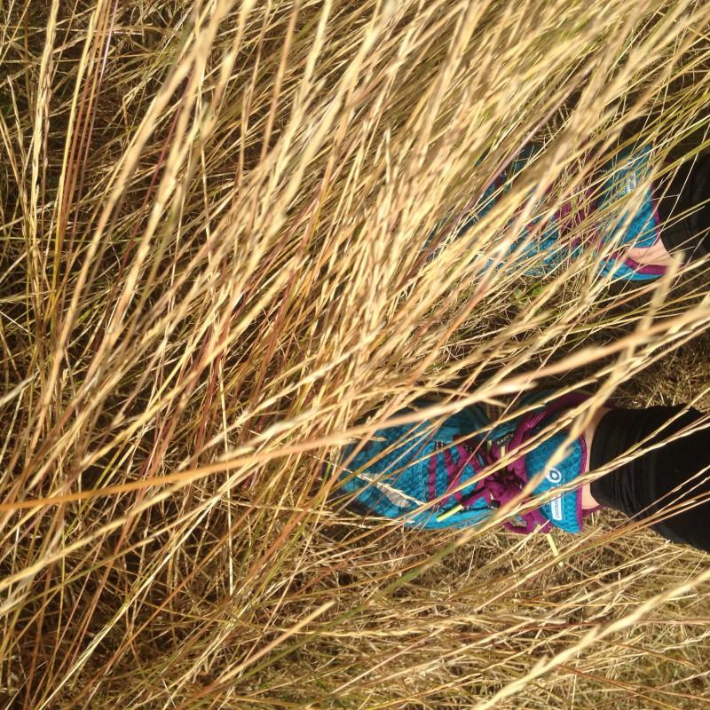 Foto 1 van Hayley bij Brooks England - Women's Puregrit 3 - Trailrunningschoenen