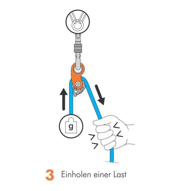 Foto 3 van Maximilian bij Climbing Technology - Rollnlock - Haspel voor touw