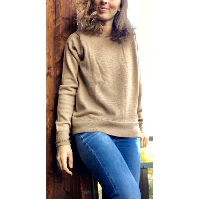 Foto 1 van Jasmin bij Icebreaker - Women's Muster Crewe Sweater - Merino trui