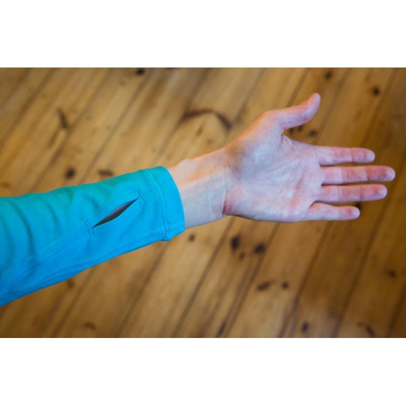 Foto 1 van Anke bij Icebreaker - Women's Pace LS Zip - Longsleeve