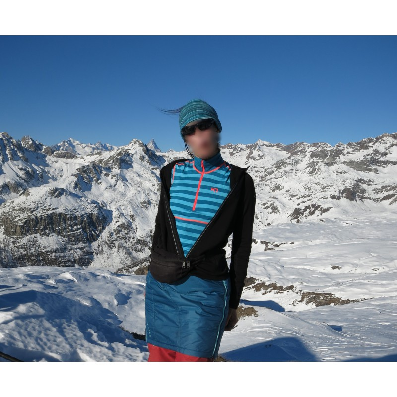 Foto 1 van Christl bij Kari Traa - Women's Ulla H/Z - Merino ondergoed