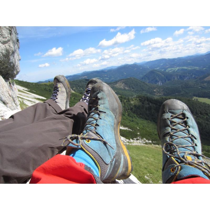 Foto 1 van Samuel bij La Sportiva - Boulder X Mid GTX - Approachschoenen