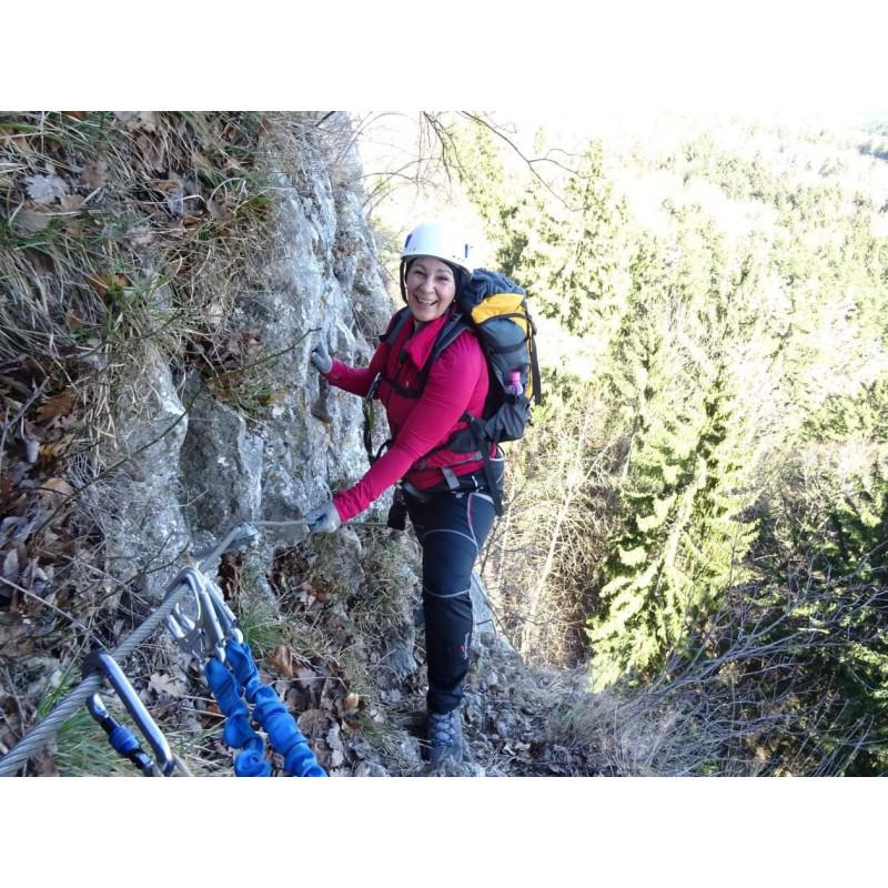 Foto 1 van Birgit bij LACD - Kit Via Ferrata Comfort - Klettersteigset