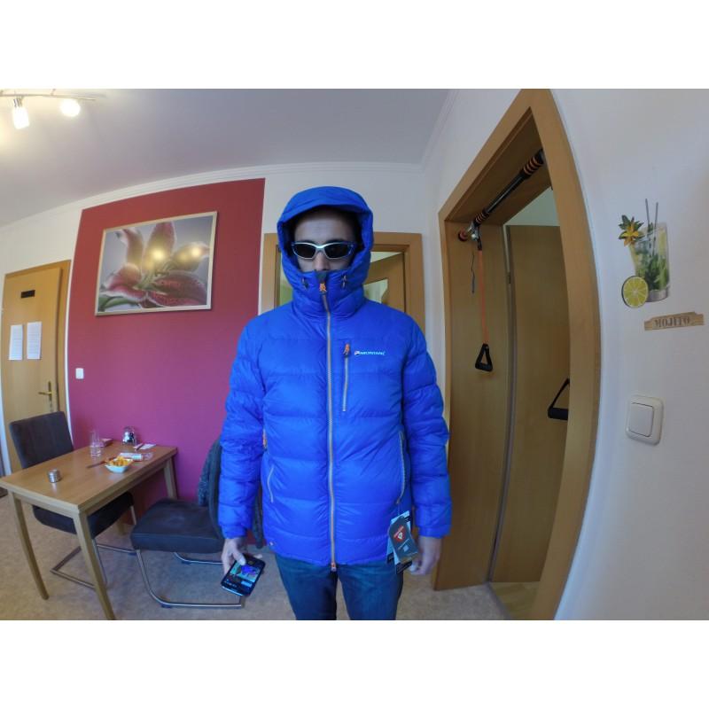 Foto 1 van Michael bij Montane - Black Ice 2.0 Jacket - Donzen jack