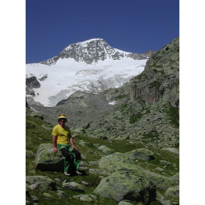Foto 1 van Klaus bij Mountain Hardwear - Microchill Zip T - Fleecetrui