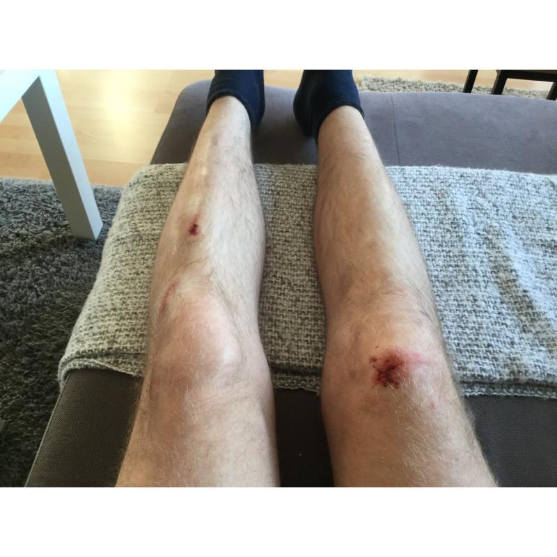 Foto 1 van Sebastian bij O'Neal - Sinner Hybrid Knee Guard - Beschermer