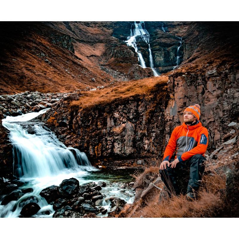 Foto 1 van Dennis bij Ortovox - Fleece Loden Hoody - Wollen jack