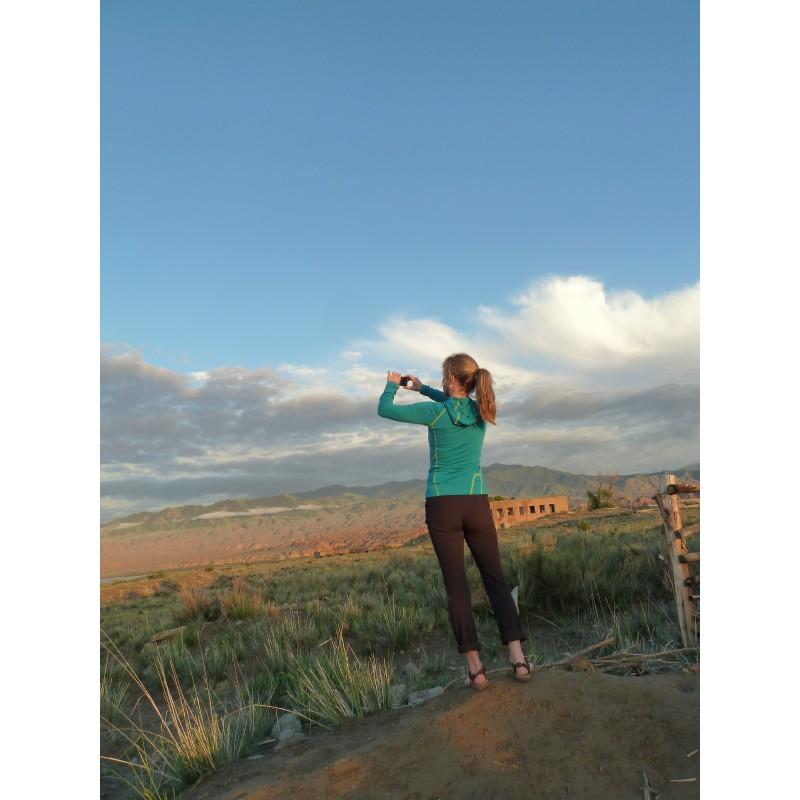 Foto 1 van Jutta bij Salomon - Women's Wayfarer Mountain Pant - Trekkingbroek