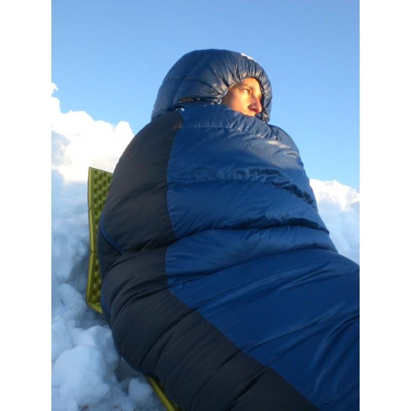 Foto 1 van Simon bij The North Face - Blue Kazoo - Donzen slaapzak