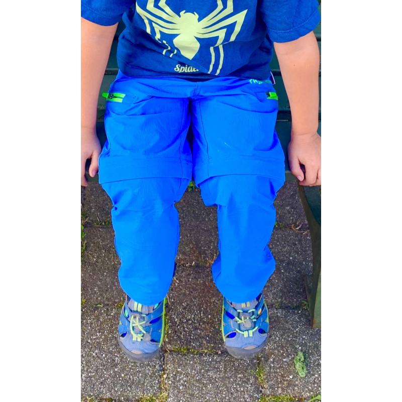 Foto 1 van Jasna bij Trollkids - Kid's Kjerag Zip Off Pants - Trekkingbroeken