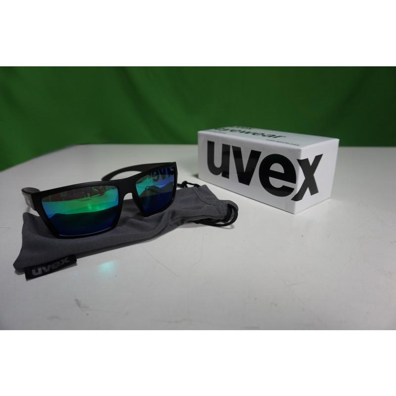 Foto 1 van Ole bij Uvex - LGL 29 Mirror Green S3 - Zonnebril