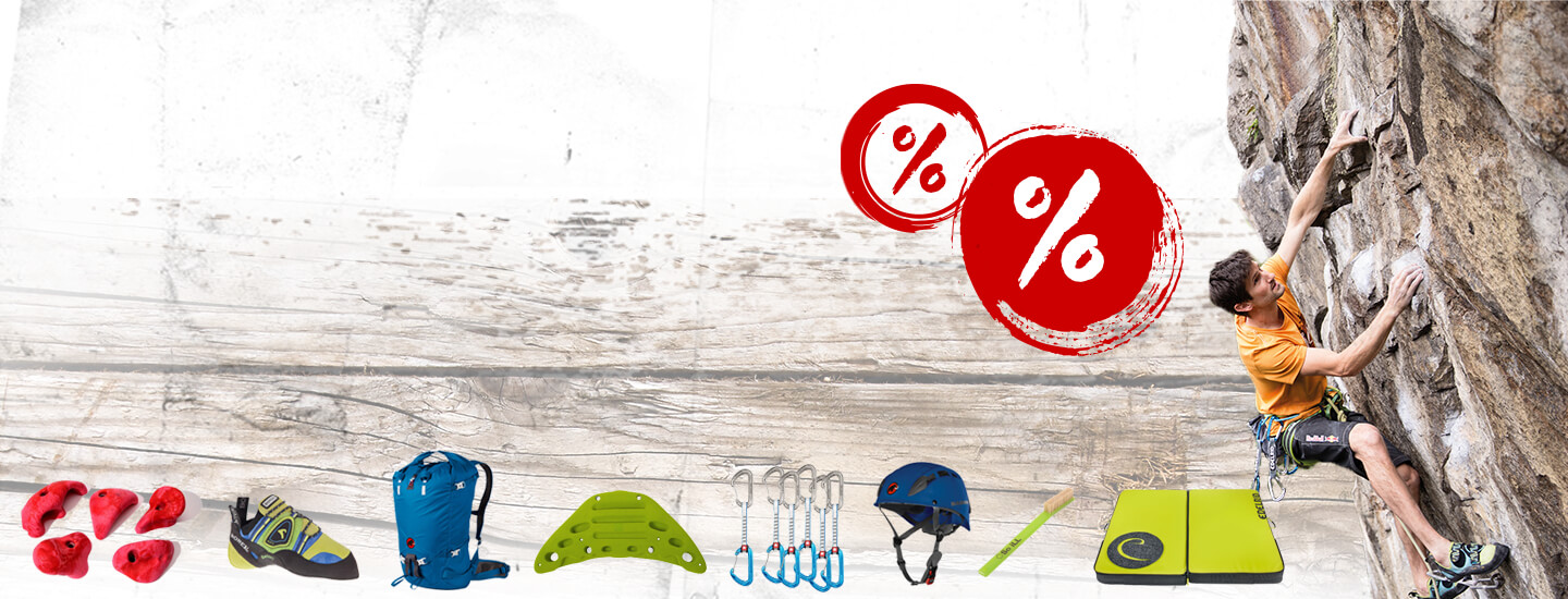 Climbing deal: save big! >>