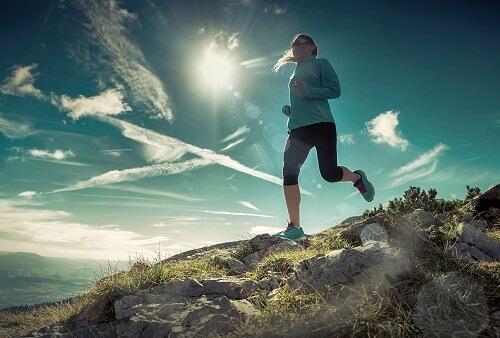 Joggen is een ideale activiteit om meer calorieën te verbranden