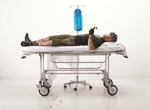 Door dehydratie kan het lichaam in shock raken.