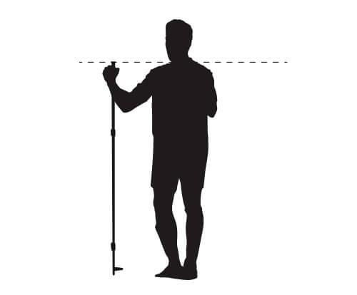 Juiste lengte van langlaufstokken