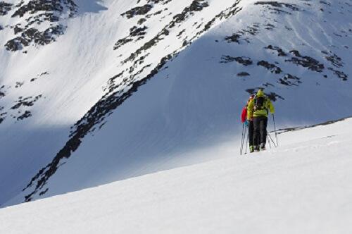 Bij skitochten hou je altijd een restrisico.
