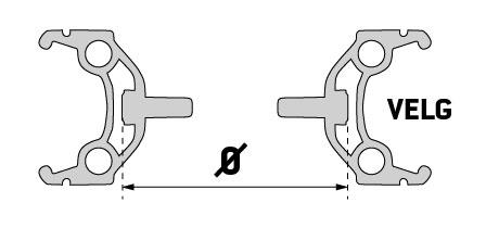 Velgdiameter fiets